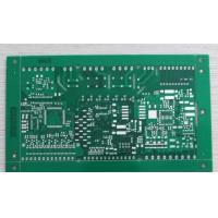 Buy cheap 4 layers FR-4 HASL LF 0.5oz 1.5mm green soldmask with blind via multilayer PCB from wholesalers