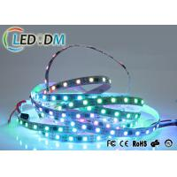 Buy cheap 12V Flexible LED Strip Lights , 5050 SMD WS2811 IC Digital Waterproof RGB Light from wholesalers