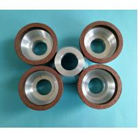 China Small Diameter Resin Bonded Diamond Grinding Wheels Bowl Shape 50*20*20*5*5 wholesale