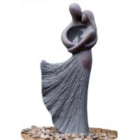 Quality Lover Sculpture Water Fountains , Copper Outdoor Water Fountains For Backyard wholesale