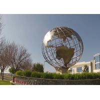 Buy cheap Metal Sculpture Manufacturer Stainless Steel Globe Sculpture from wholesalers