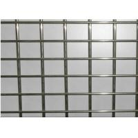 China Deformed Galvanized Welded Wire Mesh Panel For Building 4.5MM*100MM*100MM wholesale