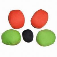 Quality Hacky Sack/Foot Bag/Bean Bag/Juggling Ball, Material of PVC/PU Leather or Polyester/Cotton Available for sale