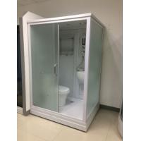 China Square Complete Shower Enclosures Shower House With Washroom / Mirror / Toilet wholesale