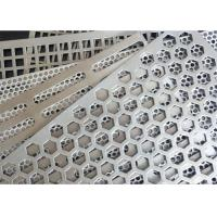 China Square Holes Perforated Aluminum Sheet 1060 Thickness 3mm Hole Diameter 0.5-6mm wholesale