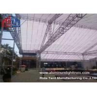 China Lighting Bolt Aluminum Stage Truss , Heavy Tudy Aluminum Roof Truss Long Life Span wholesale