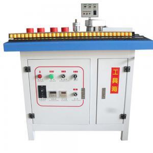 China manual furniture edge band machine/ edge bander widely used easy operate wholesale