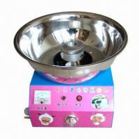 China Colorful cotton candy machine with hand box wholesale