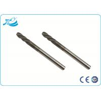 China TiAIN Coating Solid Carbide End Mill with HRC 55 Degree , Diamond Coated End Mills wholesale