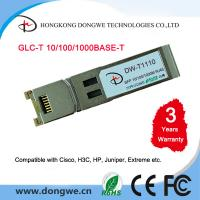 China Small Form Pluggable module transceivers,GLC-T wholesale