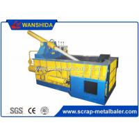 China Copper Wires Scrap Metal Baler Baling Equipment 250 × 250mm Bale Size wholesale