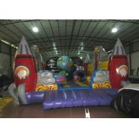 China Custom Alien Spaceship Blow Up Bounce House , Little Tikes Inflatable Bounce House wholesale