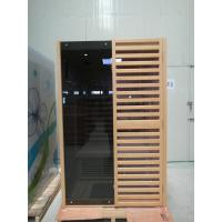 China Hemlock Wooden Far Infrared Sauna Room / Cabin For Two Person on sale