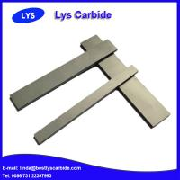 China Cemented carbide strips with angles wholesale