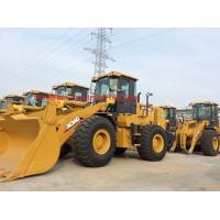 China Yellow Color Compact Track Loader , Articulated Type Mini Wheel Loader wholesale