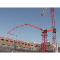 China 36m Stationary Concrete Placing Boom 4 Boom Sections With Proportional Valve wholesale