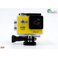 Ultra 1080P HD Gopro Action Camcorder, W9 Wireless Video Camera For Sports Recording