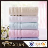 China 100% cotton white hotel hand towels 21s/2 embroidery and jacquard towels for sale PX-FT3 on sale
