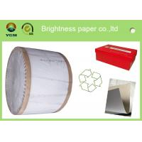 China Recycled One Side Coated Grey Back Duplex Board Paper Sheet 787 * 1092mm wholesale