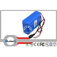 China Short circuit protection Lithium battery packs , 7.4V 18650 battery packs wholesale