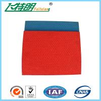 Buy cheap 13mm Thickness Pattern System Athletics Track Material , Stadium Rubberised from wholesalers