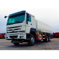 China Ten Wheels Petrol Tank Truck , 3 Axles 12.00R20 Tire Oil Delivery Truck wholesale