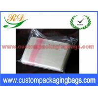 China Red and Natural Custom Plastic Laundry Bags for Hotel / Hospital 25 Micron wholesale