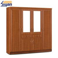 Buy cheap Shutter Style Closet Doors , Louvered Shutter Doors For Dressing Room Cabinets from wholesalers
