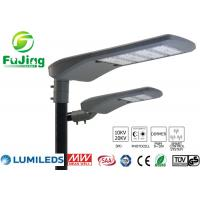 China Hollow Out Structure Led Parking Lot Light Fixtures 100w For Residential Roads on sale