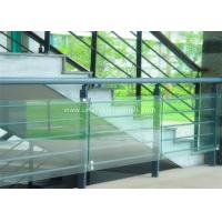 Buy cheap Decorative Glass Railing Laminated Safety Glass Grey CE / CSI Approve from wholesalers
