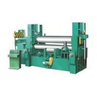 China Hydraulic Thick Plate Rolling Machine 3200mm Width Universal Mc Drum Type Upper Roller wholesale