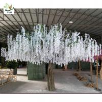 China UVG 4m large artificial decorative tree with wisteria blossom for home garden decoration wholesale