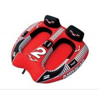 """China 2 Person Inflatable Water Towable Tube With Double Stitched Seams , 72""""X 62"""" wholesale"""