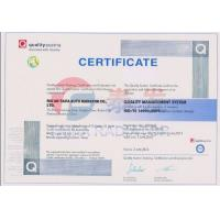 RUIAN TAIFA AUTO RADIATOR CO.,LTD. Certifications
