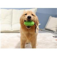 Buy cheap Treat ball Tough Dog Toys Dog Chew Toys Interactive with Bell Toothbrush Teeth from wholesalers