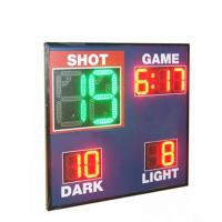China Economy Model Led Basketball Scoreboard , Live Basketball Scoreboard With Shot Clock wholesale