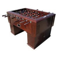 Luxury Durable 5FT Football Table , Wooden Soccer Table MDF With Wood Veneer