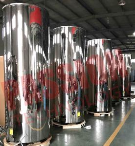 Buy cheap 1000L SUS304 Solar Hot Water Heater , Solar Powered Water Heater Heat Pipe Solar from wholesalers