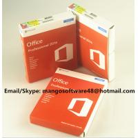 China 32 / 64 Bit Office 2016 Pro Plus Retail For Global Area Full Functions wholesale