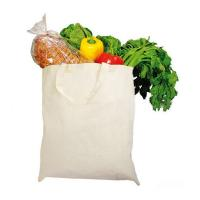 China Basic Eco Friendly Cotton Shopping Tote , Promotional Reusable Grocery Bags wholesale