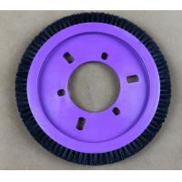 Buy cheap Natural Hog Hair Kniting Machine Brush Hardness OD 172MM ID 77MM from wholesalers