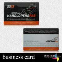 Quality Embossed Number 13.56 MHZ RFID Contactless Smart Cards For Shop for sale