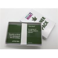 China Classic Party Games What Do You Meme Card Game Packaged With Delicate Color Box wholesale
