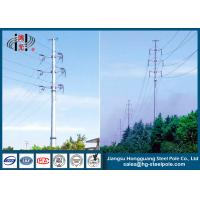China 110KV Tubular Steel Transmission Poles Certificated High Strength wholesale