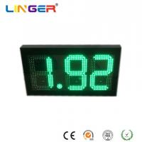 China 8.88 Digital Gas Price Signs In Green Color With 10 Inch Digits For USA Market wholesale