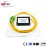China 4 Way Passive Fiber Optic Splitter Module Full Operating Wavelength wholesale
