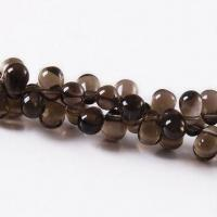 Quality 6 x 9 to 8 x 12mm A Grade Uncut Rough Smoky Quartz Beads for Sell for sale