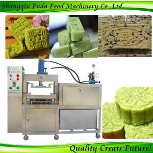 China snacks shaping machinery green bean cake making machine wholesale