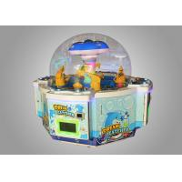 China Prize Catcher Happy 4 Kids Crane Machine / Claw Crane Machine wholesale