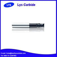 China PM-2EFP 2-flute flattened end mills with straight shank with long neck and short cutting edge wholesale